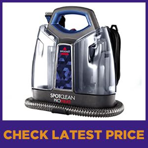 Bissell Pro Heat Portable Spot And Stain Carpet Cleaner