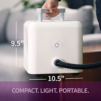 Compact, Lightweight And Portable Steam Cleaner