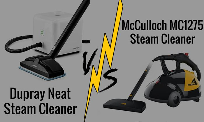Dupray Neat Vs Mcculloch Mc1275 Steam Cleaner
