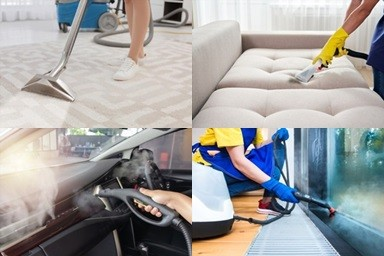 Multi Functional Steam Cleaner For Carpet, Upholstery, Cars And Mirror