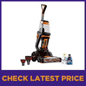 Bissell Upright Steam Carpet Cleaner 1548F