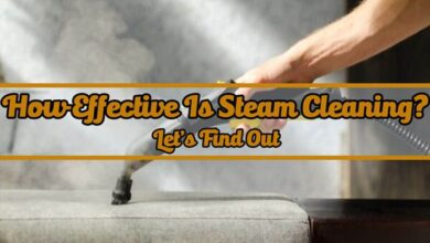 How Effective Is Steam Cleaning - Where to Use Steam Cleaner at Home