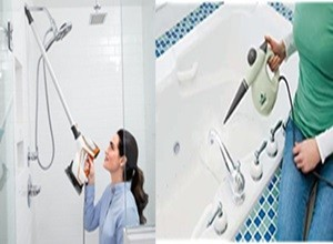 Steam Cleaning Shower and Bathtub