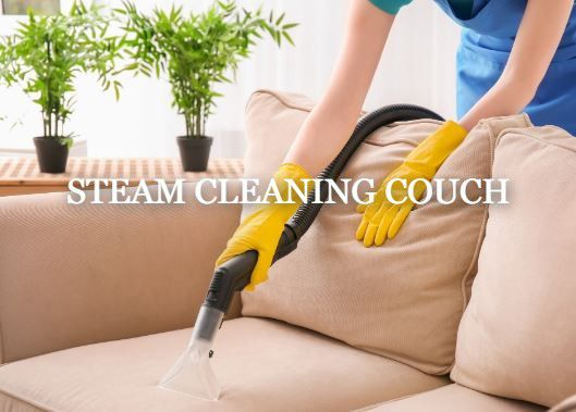How to Clean a Couch with Steam Cleaner
