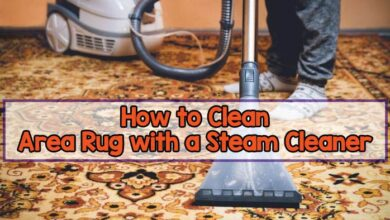How to Clean an Area Rug with a Steam Cleaner