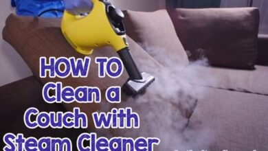 How to Clean a Couch with a Steam Cleaner