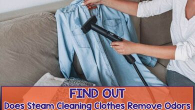 Does Steam Cleaning Clothes Remove Odor | Let's Find Out