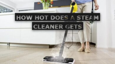 How Hot Does a Steam Cleaner Gets