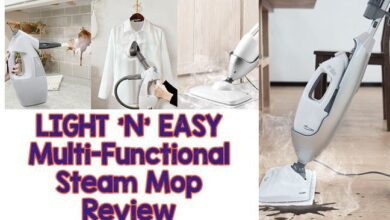 LIGHT 'N' EASY Multi-Functional Steam Mop [Detailed Review]