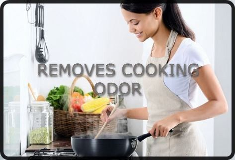 Steam Cleaner Removes Cooking Odors from Clothes