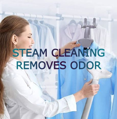 Steam Cleaning Removes Odor